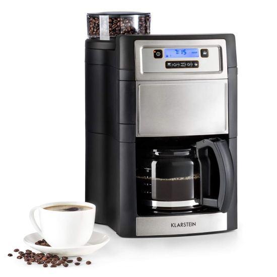 Cafetière filtre avec broyeur intégré - Klarstein Aromatica II