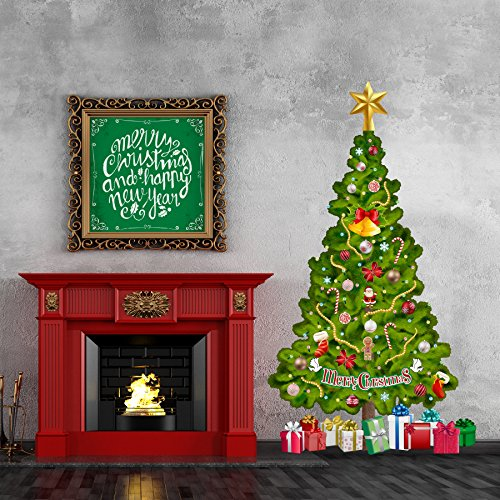 Trendy cute and unique holiday wall decor home wall art for Christmas wall art amazon