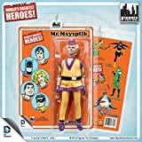 d.c. comics 8 inch action figure retro mego like card; mr mxyzptlk limited 100
