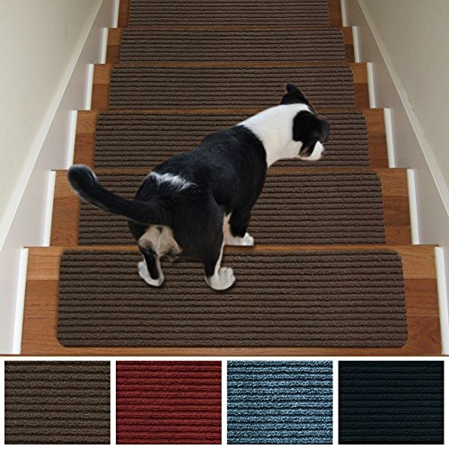 Which Is The Best Stairs Treads Carpet Top Best Review   Best Non Slip Carpet For Stairs   Wood Stairs   Staircase Remodel   Hardwood Stairs   Flooring   Slip Resistant