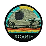 Disney Star Wars Rogue One Planet Scarif Patch Officially Licensed Iron On Applique