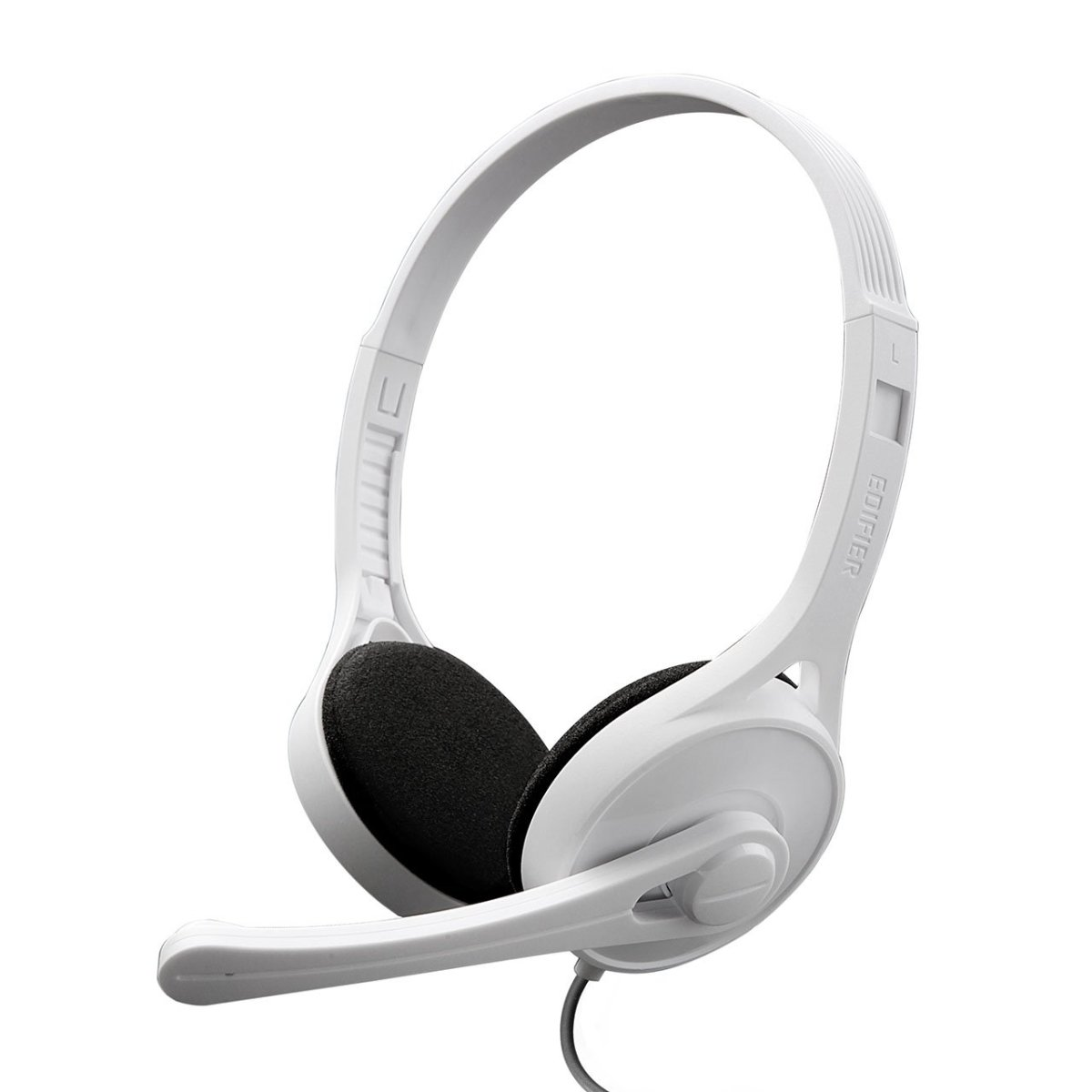 Edifier K550 On-Ear Headphones (White) with Microphone