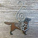 GOLDEN RETRIEVER Christmas Ornament, Dog Lover Gift, Gift for Dog Mom, Pet Memorial, Dog Lovers Gifts