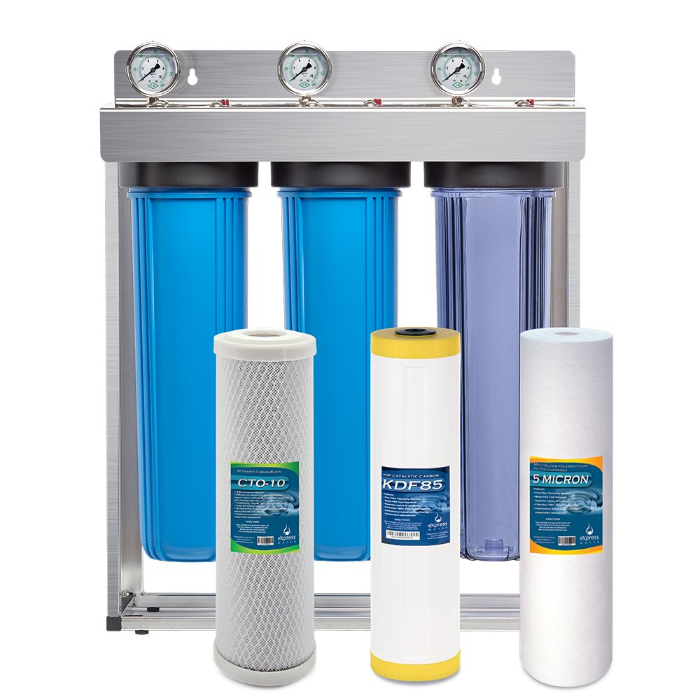 EXPRESS WATER HEAVY METAL WHOLE HOUSE WATER FILTRATION SYSTEM