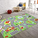 79'X40' Kids Rug Play mat for Toy Cars, Safe,Colorful and Fun Play Rugs with Roads for Bedroom and Kid Rooms, Car Rug to Have Hours of Fun on,Area Rug Mat with Non-Slip and No Chemical Smell Backing