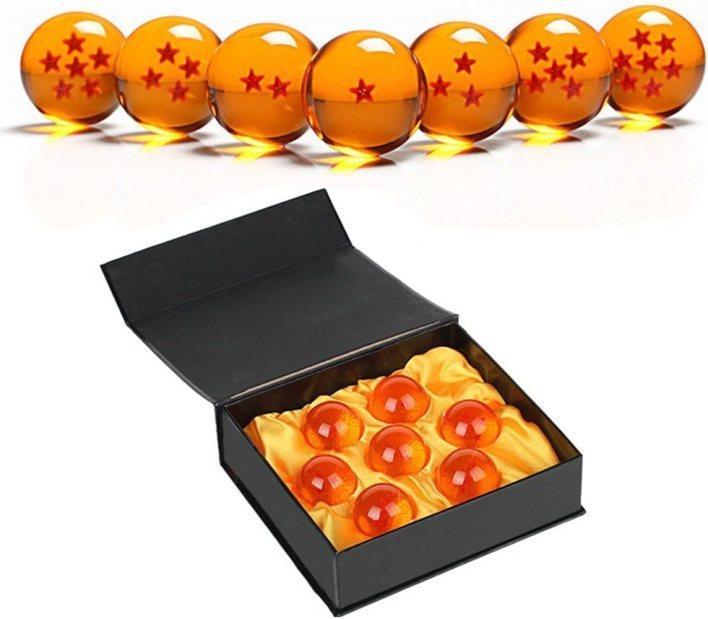 Bola de cristal transparente, Simuer Crystal Dragon Ball Set esfera de cristal, bola decorativa de curación, decoración K9, accesorio de cristal para fotografía, decoración de enseñanza, regalo