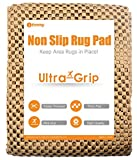I FRMMY Premium Thick Non-Slip Area Rug Gripper Pad for Any Hard Surface Floor, Keeps Your Rugs in Place (2' x 8')