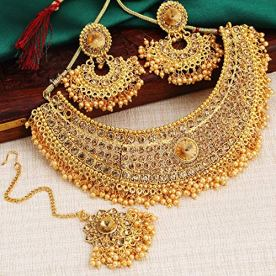Sukkhi-Fascinating-Pearl-Gold-Plated-Necklace-Mangalsutra-Kada-Combo-for-Women-SKR48721