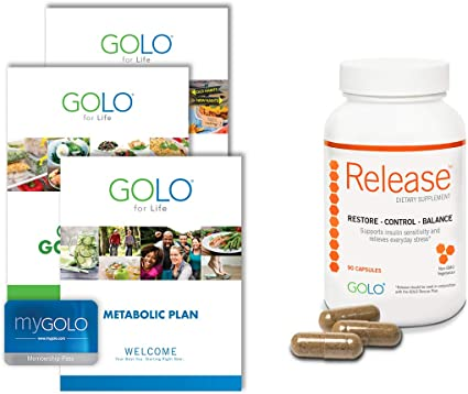 Amazon.com: GOLO Metabolic Plan Weight Loss System - Release ...