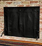 Plow & Hearth Medium Pavenex Fireplace Blanket, Stops Overnight Heat Loss, Reduces Cold Draft