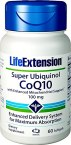 Life Extension Super Ubiquinol COQ10 with Enhanced Mitochondrial Support 100 mg 60 Softgels