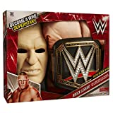 WWE Brock Lesnar Deluxe Muscle Suit with Championship Title Belt