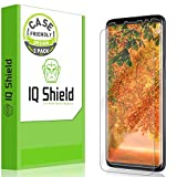 [2-Pack] IQ Shield LiQuidSkin Clear Screen Protector for Samsung Galaxy S9 Plus [Case Friendly Version 2] HD Anti-Bubble TPU Film