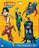 Ata-Boy DC Comics Set of Five Justice League Character Magnets