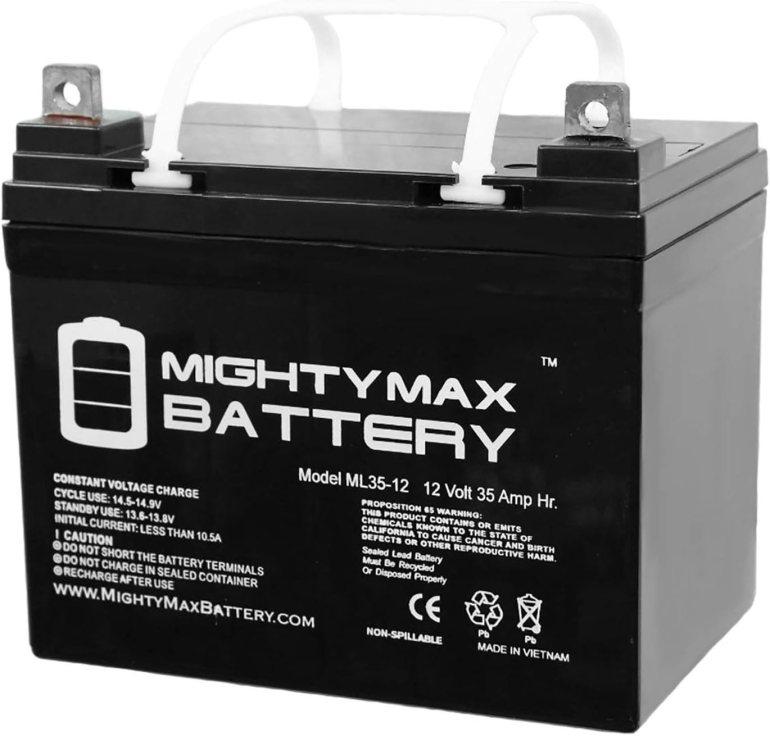 Mighty Max Battery ML35-12 - 12V 35AH Deep Cycle Battery