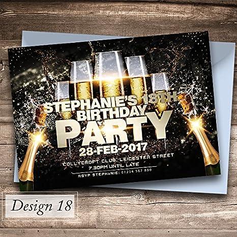 50 Inviti Di Compleannoper Festa 39 Splendidi Design Tra