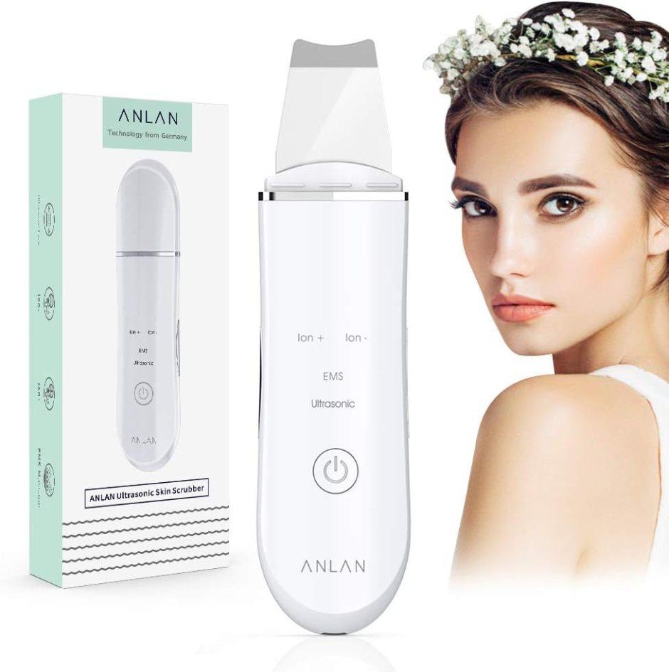 ANLAN Ultrasonic Facial Skin Scrubber