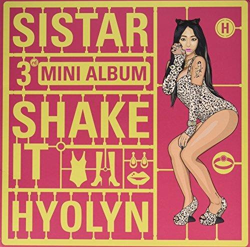 Sistar 3rdミニアルバム - Shake It HYOLYN ジャケット