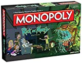 Monopoly Rick and Morty Board Game | Based on the hit Adult Swim series Rick & Morty | Offically...