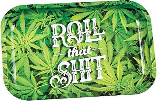 Roll That Shit Metal Rolling Tray - 7.5