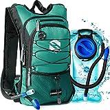 OlarHike Hydration Backpack Pack with 2L BPA Free Leak-Proof Bladder, Insulated Water Backpack for Hiking,Biking,Running,Camping