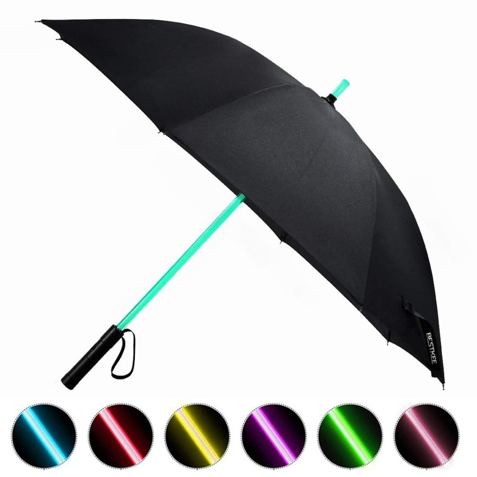 Lightsabre umbrella for Star Wars Day gifts