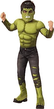 Amazon Com Avengers Endgame Hulk Kids 2018 Deluxe Costume Toys Games
