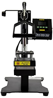 Best Value Vacs- Easy Swing V2 Rosin Press Machine - Dual Heat