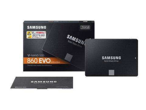 Samsung SSD 860EVO パッケージ