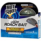 Hot Shot 95789 Mini Ultra Liquid Roach Bait, 3 Packs of 6 Count