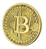 Bitcoin Gold Plated Commemorative Collector's Coin