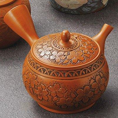 Japanese ceramic Tokoname ware. Kyusu teapot. 230cc