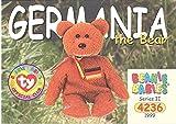 TY Beanie Babies BBOC Card - Series 2 Common - GERMANIA the Bear