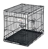 Petmate 24-Inch 2-Door Training Retreats Wire Kennel for Dogs, 25 to 30-Pound