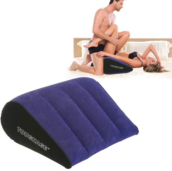 Dulexo Triangle Pillow Adult Toy for Couple Sex Women G Spot Position Cushion Multifunctional Inflatable Foldable Support Pillow