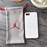 1 piece For Iphone 6 6plus 6s Plus 7 7plus 8 X Case Sports Nba Air Flying man Jordan 23 Phone Cover Soft Luxury Leather Couple Cases