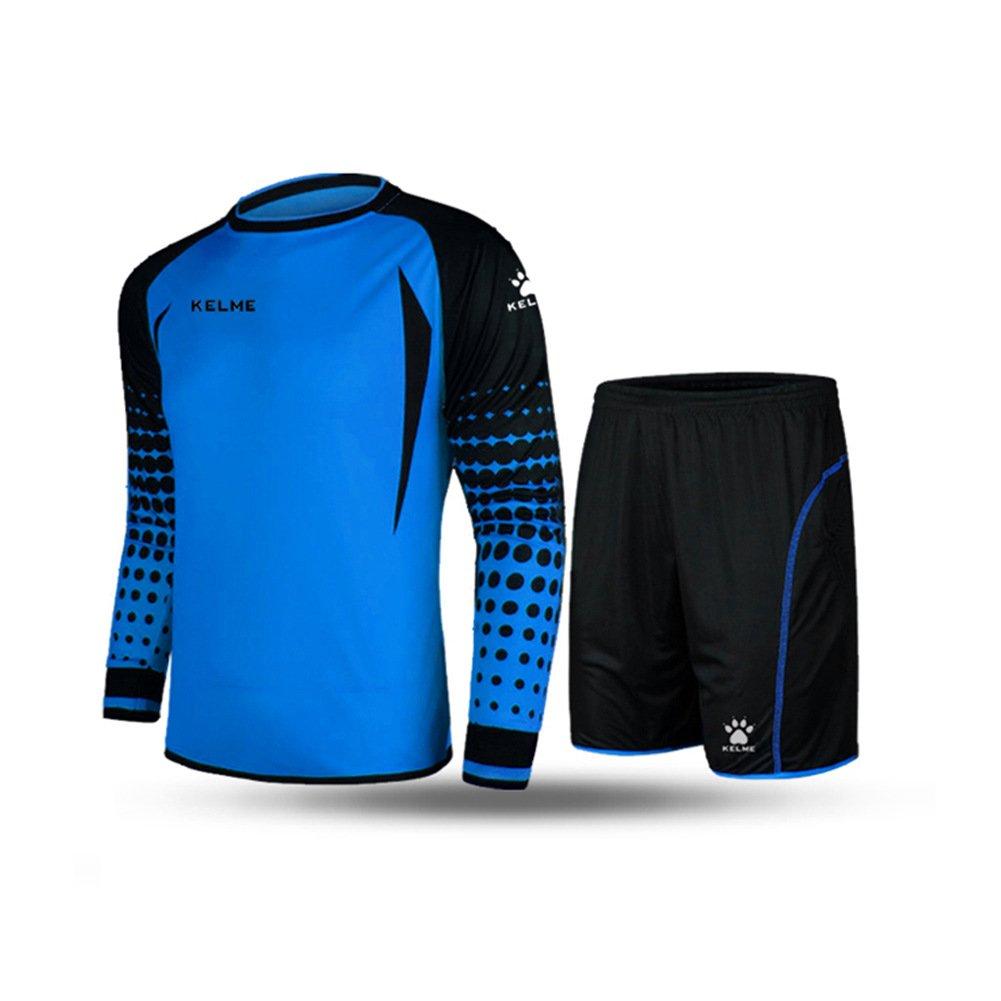 Download Kelme Loose Soccer Goalkeeper Suit Sponge Protector ...