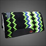 Product review for DP132 BLACK GREEN HILASON WESTERN NEW ZEALAND WOOL FELT SADDLE BLANKET PAD