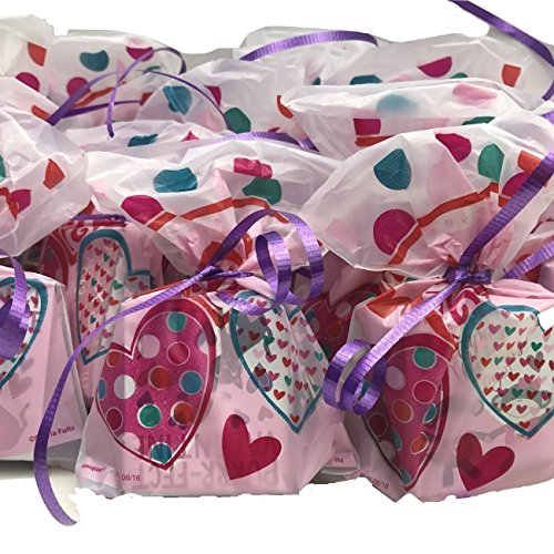25 Valentine S Day Pre Filled Favor Gift Bags Perfect For Classroom