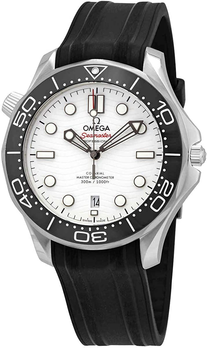 Omega Seamaster Diver 300m Co-Axial Master Chronometer 42mm, White Ceramic Dial