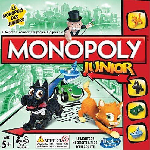 Monopoly Junior - A69841010 - Jeu de Société: Amazon.fr: Jeux et ...