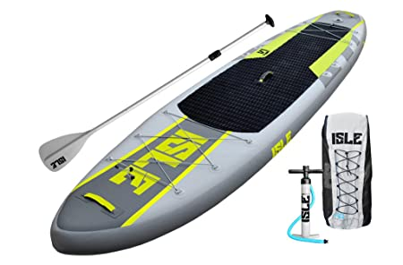 ISLE 11' Airtech Inflatable Explorer Stand Up Paddle Board (6