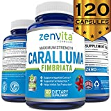 Pure Caralluma Fimbriata Extract 1200 mg - 120 Capsules, Non-GMO & Gluten Free, Maximum Strength Natural Weight Loss Supplement, Diet Pills That Work Fast for Women and Men