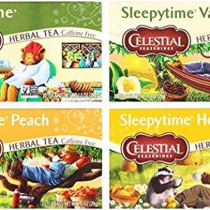 Celestial Seasonings Sleepytime Assorted Tea Bundle: (1) Sleepytime Classic, (1) Sleepytime Vanilla, (1) Sleepytime…