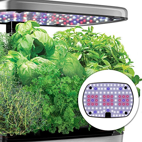 Miracle-Gro-AeroGarden-Harvest-Elite-with-Gourmet-Herb-Seed-Pod-Kit-Red