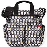 Skip Hop Messenger Diaper Bag with Matching Changing Pad, Duo Signature,