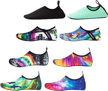 DoGeek Escarpines Agua Zapatos Antideslizante Transpirable