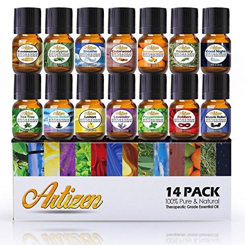 14 Essential Oils Set