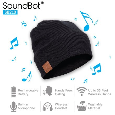SoundBot Bluetooth Hat cool gadgets for men
