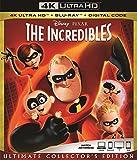 The INCREDIBLES 4K Ultra Blu Ray + Blu Ray + Digital Code [Blu-ray]